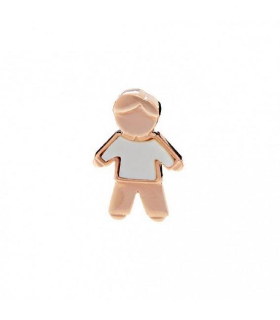Charm pulsera F&P&H papa con MOP rosado - 00504176