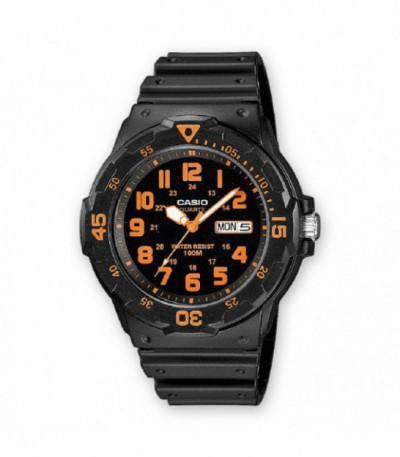 Reloj Analógico Naranja Casio - 10656