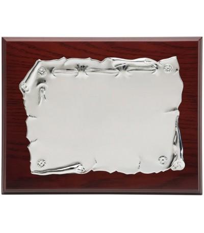 Placa aluminio blanco - P-1335
