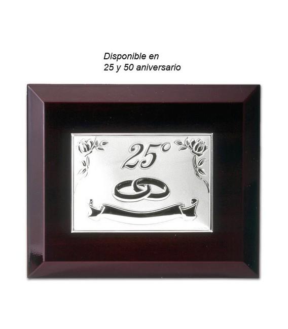 PLACA 25 ANIVERSARIO - P-1526-25