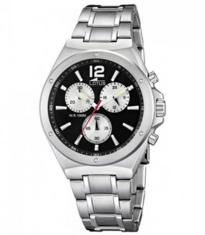 Reloj Lotus de caballero cronógrafo acero - 10118/5