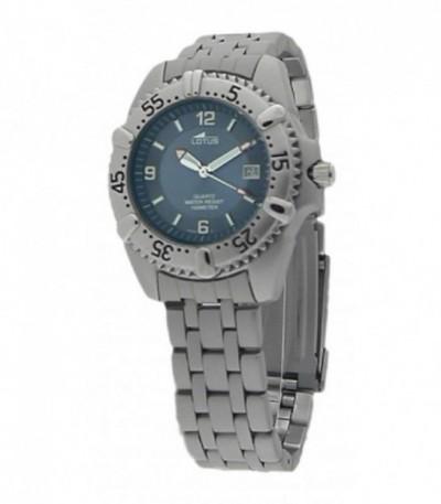 Reloj unisex de acero gris mate - 15050/K