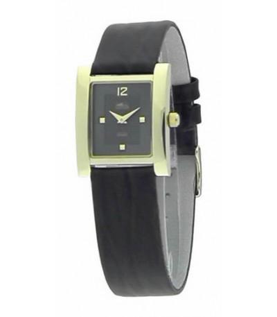 Reloj de mujer cuadrado chapado en oro - 15140/2