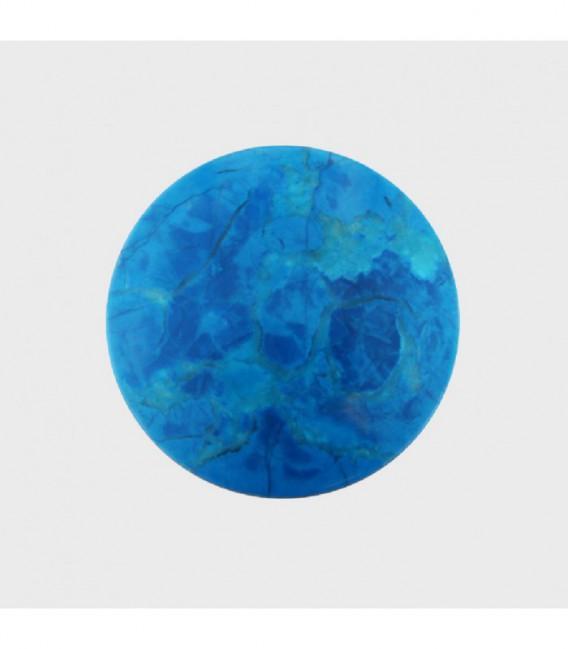 Insignia 33 mm. Turquesa Piedra natural - 33-0082