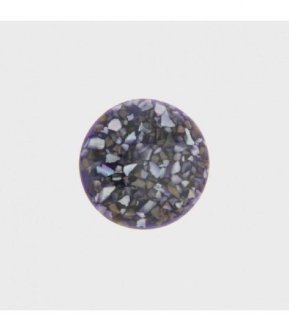 Insignia 24 mm Púrpura-Res Concha Recons - 24-0861
