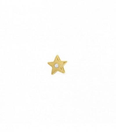 Dancer estrella 1 zircon dorado - 28-0055