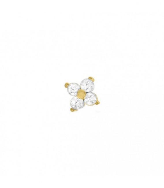 Dancer 4 circonitas dorado - 28-0065