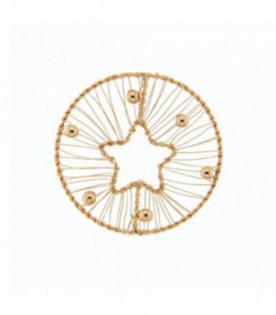 Insignia 33 mm rosé Cable estrella - 33-0673