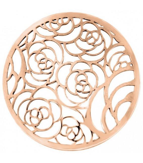 Insignia 33 mm Cover flores rosé calada - 33-1265