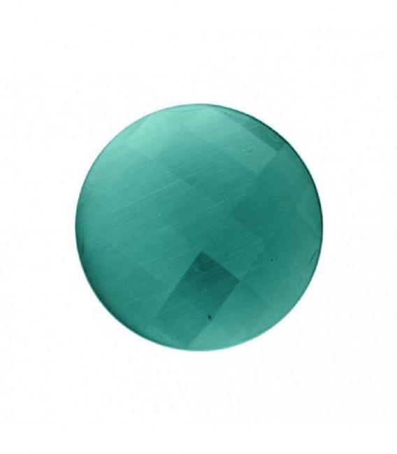 Insignia 33mm FACETADO en azul cielo - 00902064