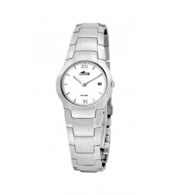 Reloj de acero de señora esfera blanca - 9914/1 - 9914/1