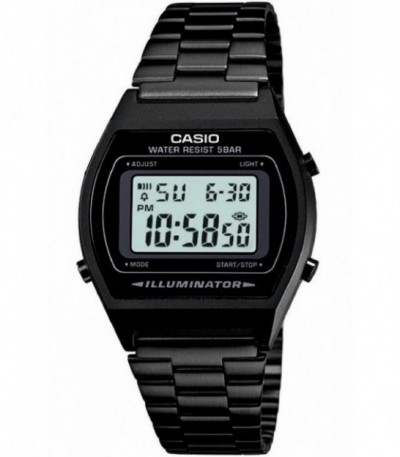 RELOJ DIGITAL CASIO ALL BLACK - 10778