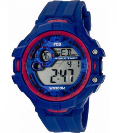 Reloj FCB digital caucho azul - BA07601 - BA07601