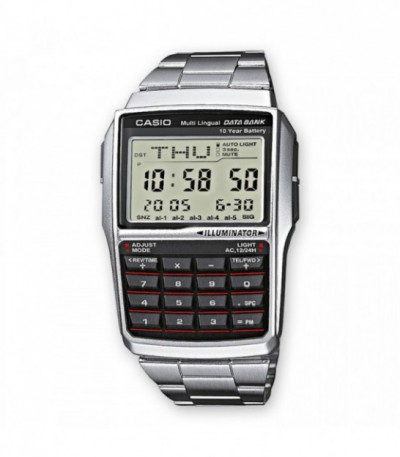 RELOJ CALCULADORA Y DATA BANK CASIO - ZM-DBC32D1A