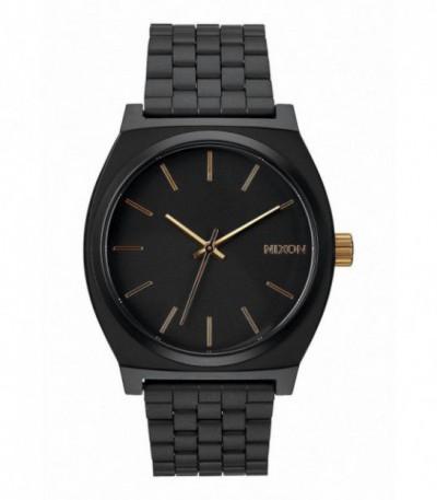 RELOJ TIME TELLER MATTE BLACK / GOLD NIXON - A0451041