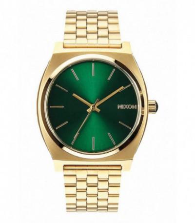 RELOJ TIME TELLER GOLD / GREEN SUNRAY - NIXON - A0451919
