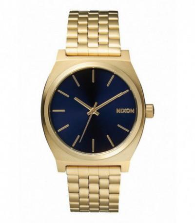 RELOJ TIME TELLER ALL LIGHT GOLD / COBALT NIXON - A0451931