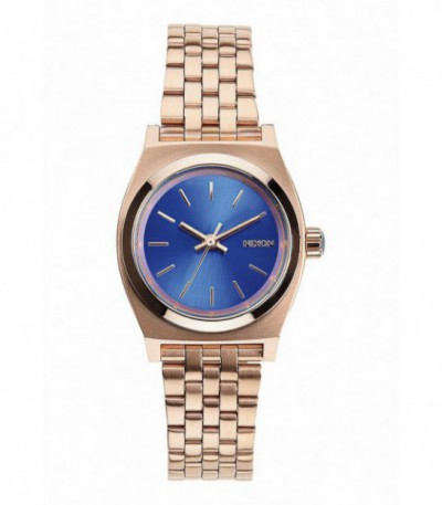 RELOJ SMALL TIME TELLER ROSE GOLD/COBALT - A3991748