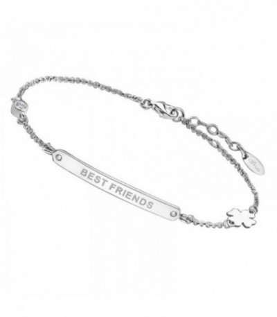 PULSERA BEST FRIENDS LOTUS SILVER - LP1650-2/1