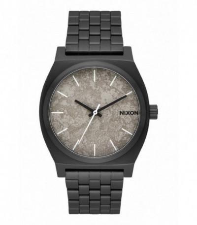 RELOJ TIME TELLER BLACK / CONCRETE NIXON - A0452687