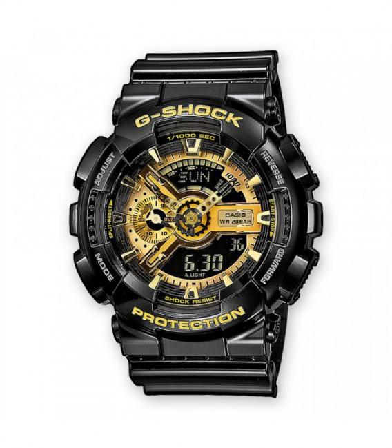 RELOJ NEGRO Y DORADO CASIO G-SHOCK - GA-110GB-1AER