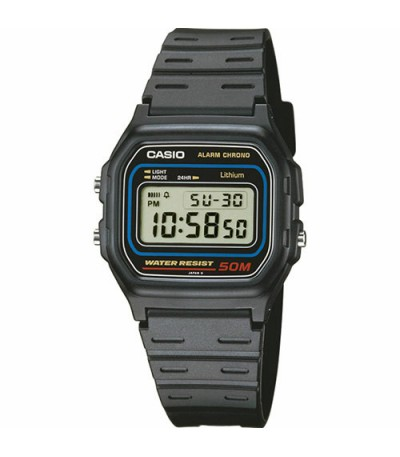 RELOJ DIGITAL CASIO - W-59-1VQES
