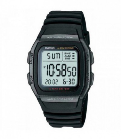 RELOJ DIGITAL CASIO W96H-1B - 12630