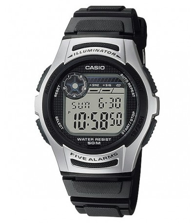 RELOJ DIGITAL NEGRO Y GRIS  CASIO - 10490