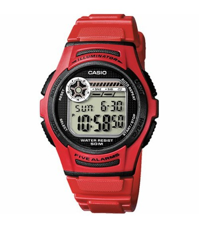 RELOJ DIGITAL ROJO UNISEX  CASIO - 12503