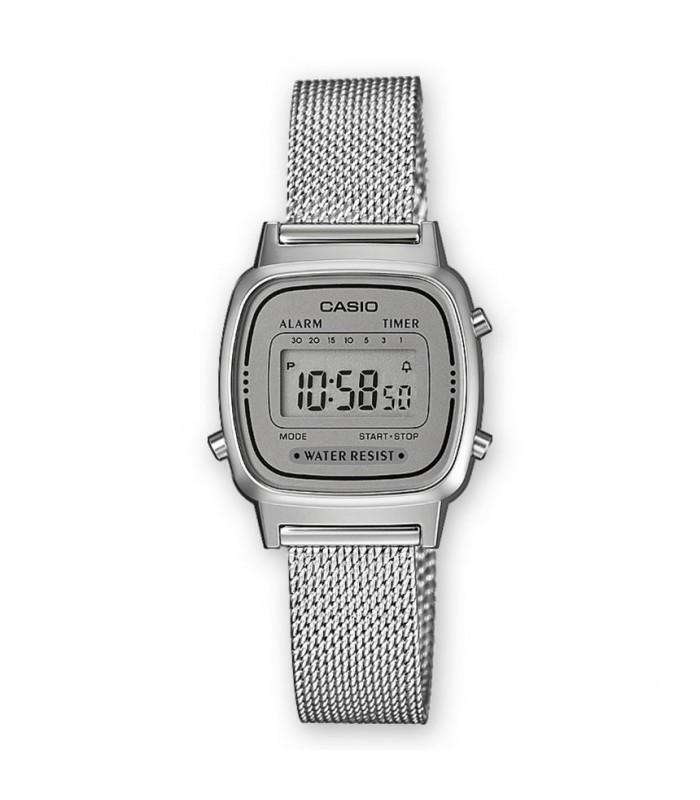 Reloj digital metal mujer