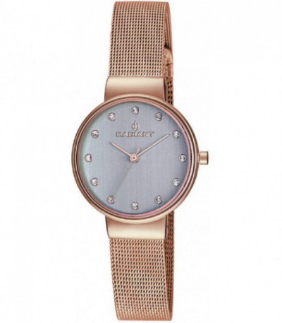 RELOJ NORTHWAY SMALL ROSE GOLD / STONES RADIANT - RA401203