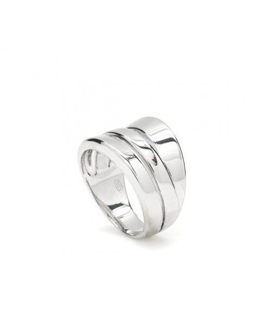 ANILLO DISEÑO PLATA LISA LINEARGENT - 15272-R