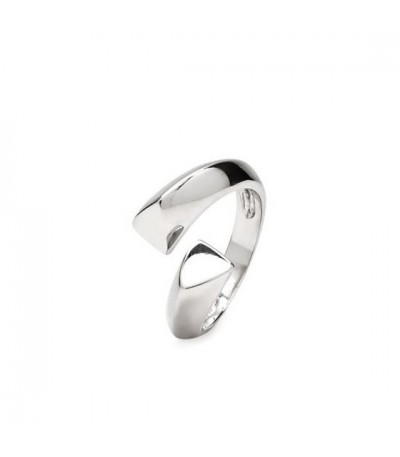 ANILLO PLATA LISA ABIERTO LINEARGENT - 15279-R