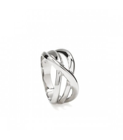 ANILLO PLATA LISA LINEARGENT - 15280-R