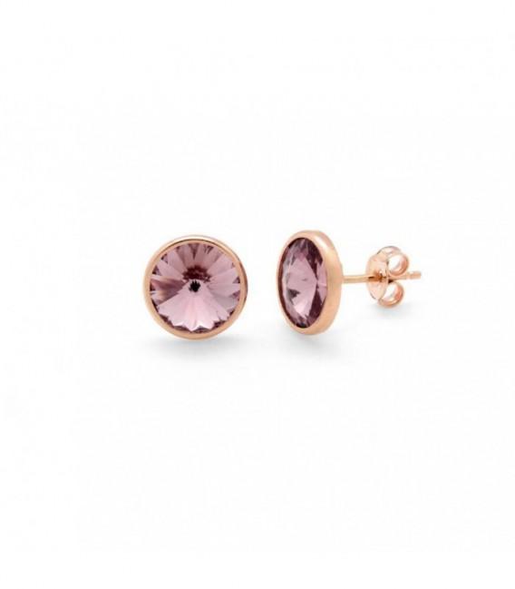 Pendiente Antique Pink Oro Rosa VICTORIA CRUZ - A2520-19T