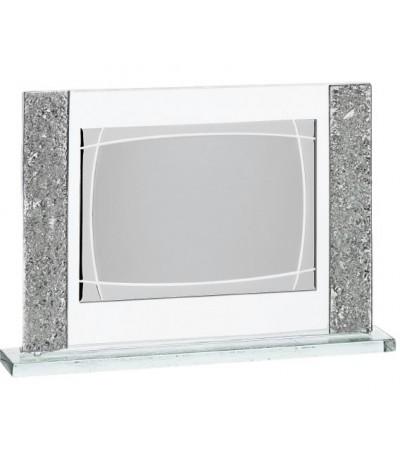Placa Cristal Murano con Estuche 16x12cm - 12838-E