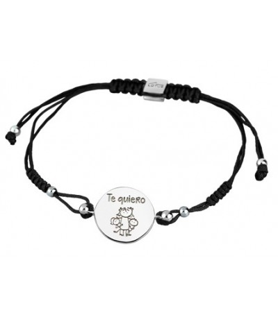 PULSERA MOTHER´S LOVE  LOTUS SILVER - LP1564-2/1