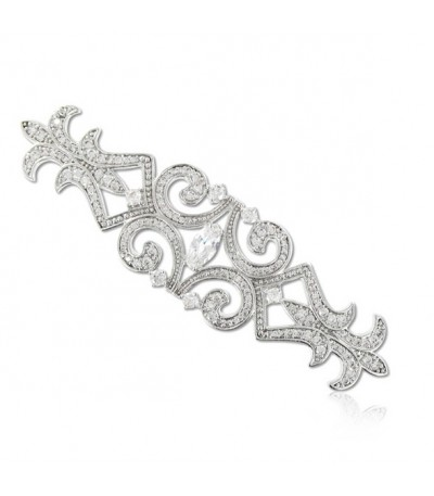 BROCHE PLATEADO - 98-B17CT357