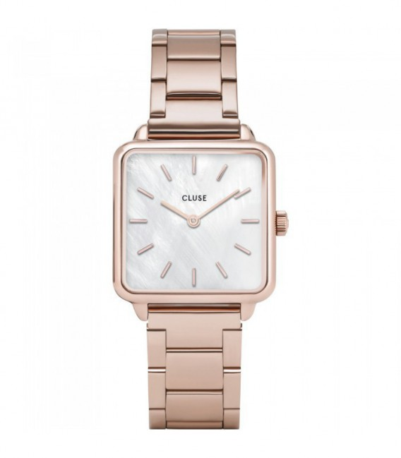 La Tétragone Three Link Rose Gold/White Pearl CLUSE - CL60027S