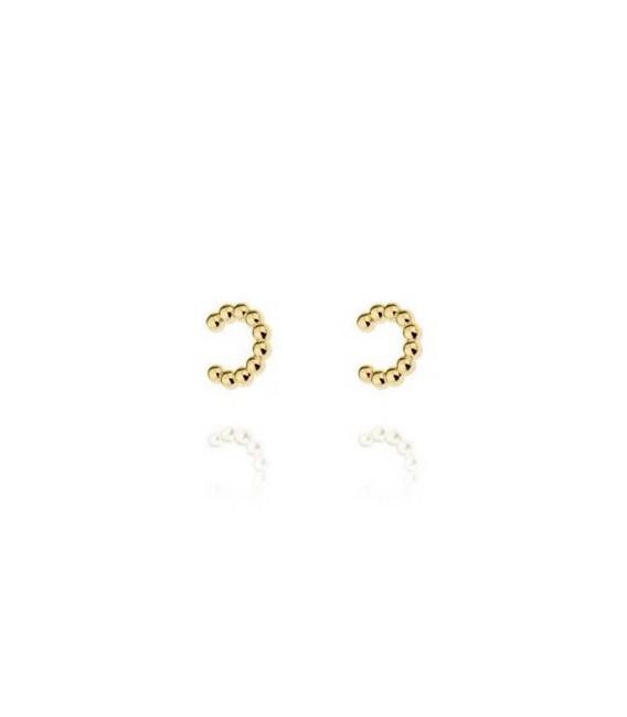 PENDIENTES EAR CUFF PLATA CHAPADA - D1PM246