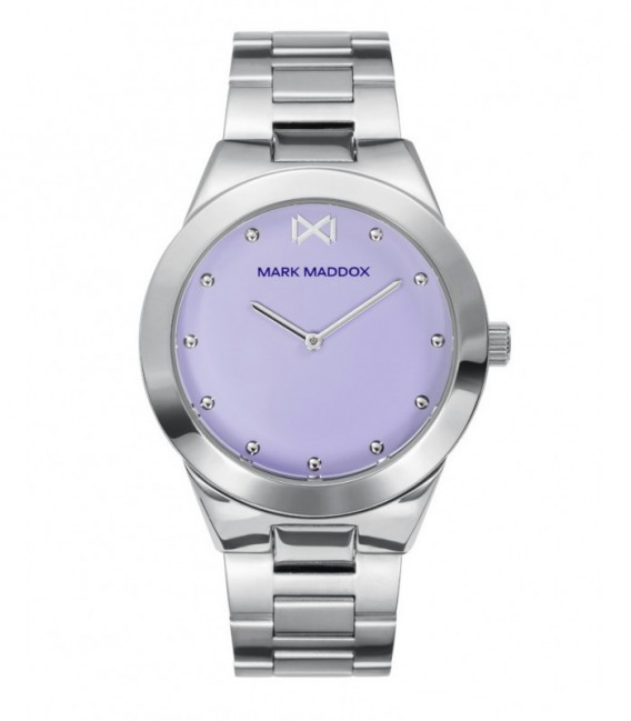 RELOJ ACERO ALFAMA MARK MADDOX - MM0116-36