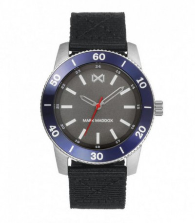 RELOJ ACERO MISSION MARK MADDOX - HC7124-46