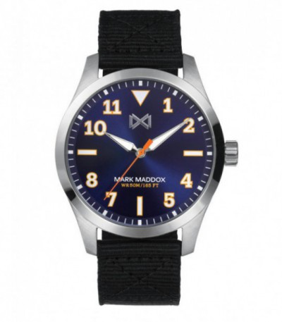 RELOJ ACERO MISSION MARK MADDOX - HC7131-34