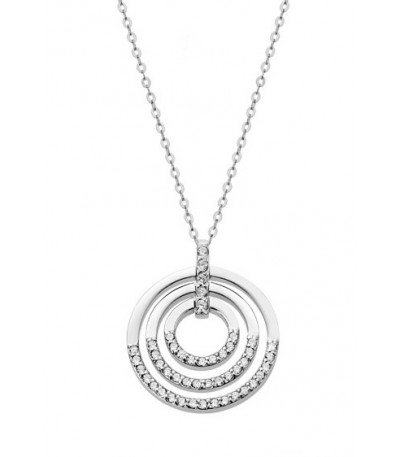 COLLAR 3 AROS LOTUS SILVER - LP1755-1/1