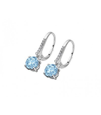 PENDIENTES CHARMING LADY LOTUS SILVER - LP2005-4/D