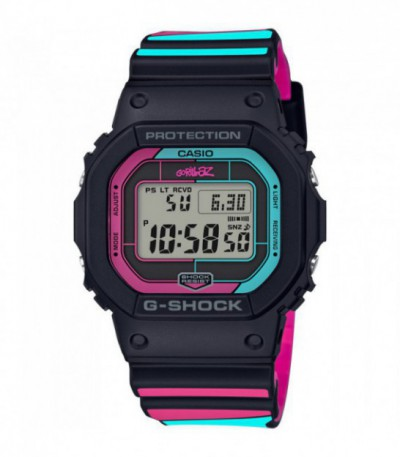 RELOJ DIGITAL CASIO G-SHOCK GOZILLAZ - GW-B5600GZ-1ER