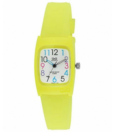 RELOJ AMARILLO Q&Q BY CITIZEN - VP65J017