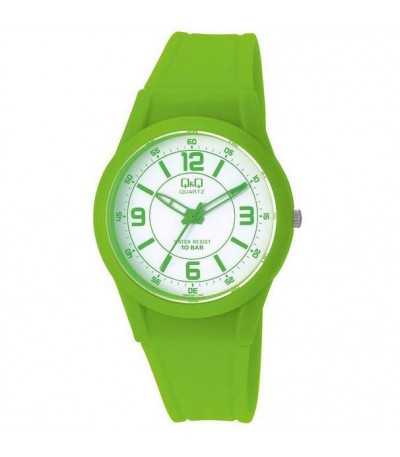 RELOJ UNISEX VERDE Q&Q bY CITIZEN - VQ50J021
