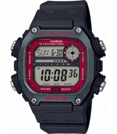 RELOJ HOMBRE HEAVY DUTY 200M CASIO COLLECTION - DW-291H-1BVEF