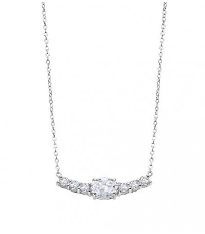 COLLAR CHARMING LADY LOTUS SILVER - LP2011-1/1